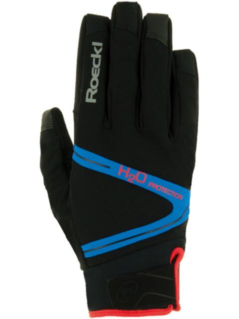 Roeckl Rhone Bike Gloves black/blue